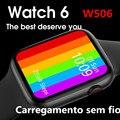 2021 Новый IWO W506 Обновление от W56 Смарт-часы Полный сенсорный Экран вызовов через Bluetooth IP68 Водонепроницаемый спортивные часы мужские и женские ...
