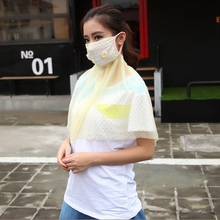 Male Female Outdoor Sunscreen Mask Thin Large Summer Fishing Dustproof Anti UV Riding Neck Protector Breathable Girl