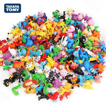 Takara Tomy – jouets figurines Pokemon, 24 pièces, Mini figurines, modèle, Pikachu, Anime, poupée pour enfants, cadeaux de noël
