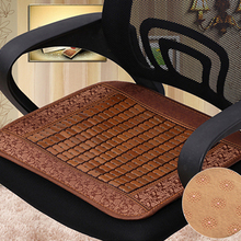 Mahjong Mat Summer Cushion Office Computer Chair Breathable Bamboo Car Cool Seat Cushions  Modern Home Decor