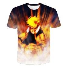 2020 Summer New Japan Anime Naruto Uchiha Sasuke Itachi 3D T Shirt Men/Women Tops Boy Girl children's Cool Tee Harajuku Clothes