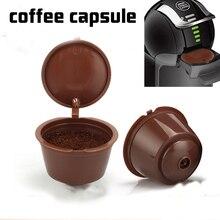 Nespresso 1/2/3 szt. Kapsułka z kawą nestle dolce gusto kapsułka filtr do kawy wielokrotnego użytku kapsułka maszyna wielokrotnego napełniania cafe capsula