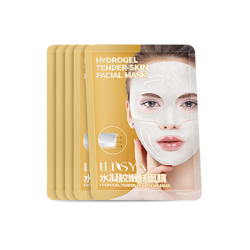 ILISYA Hydrogel Facial Mask High Quality Anti-Wrinkle Anti-Ageing Facial Mask Hydrating Tender-Skin Mask Prevent Wrinkles-1 PC