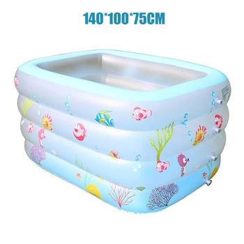 Inflatable Baby Swimming Pool Home Thickened Adult Oversized Children's Paddling Pool Baby Bathing Pool Ocean Ball Pool