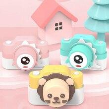 Mini cámara Digital con Wifi para niños, cámara con pantalla IPS de 24MP, juguete educativo de dibujos animados para niños, regalo de cumpleaños para bebés