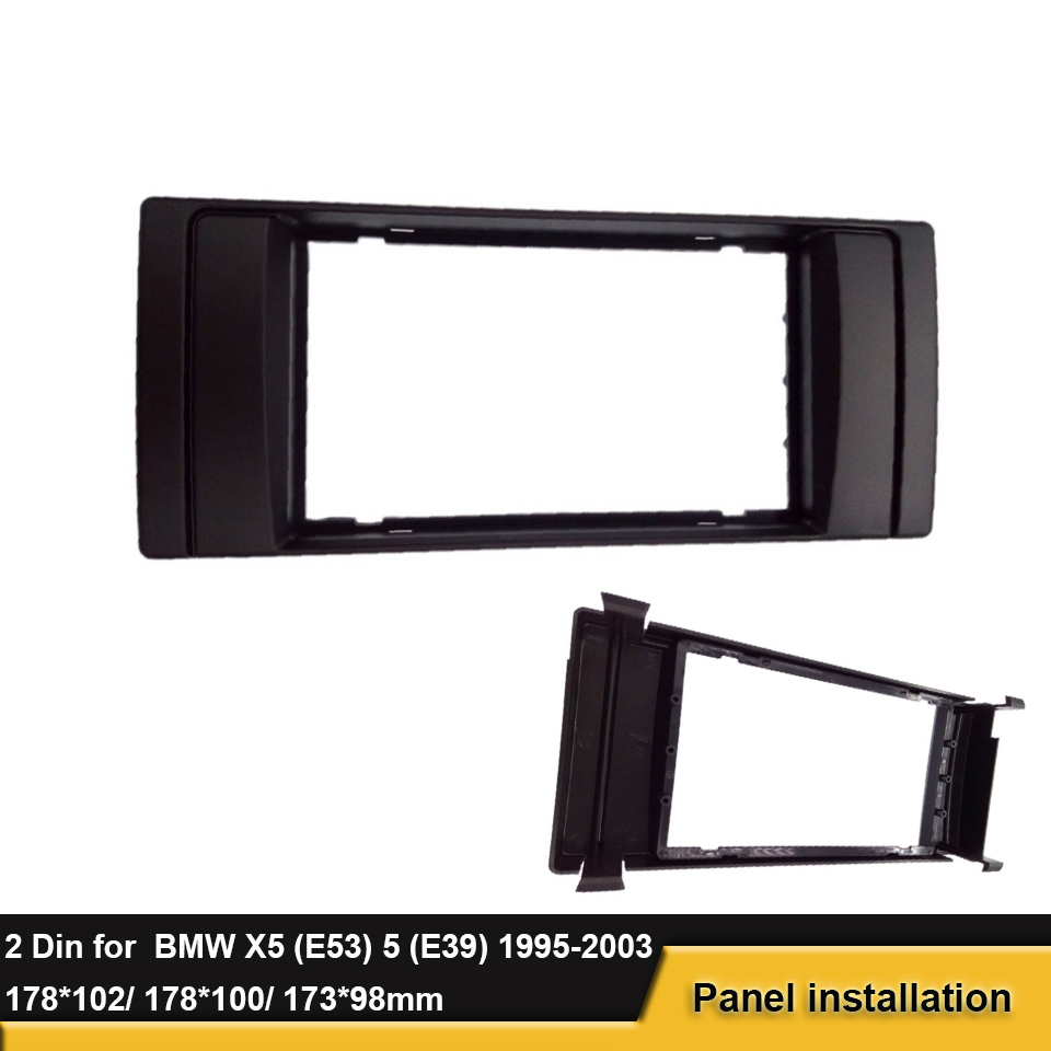 Installation Frame Radio Faceplate for BMW 5 Series E39 7 E38 With ...