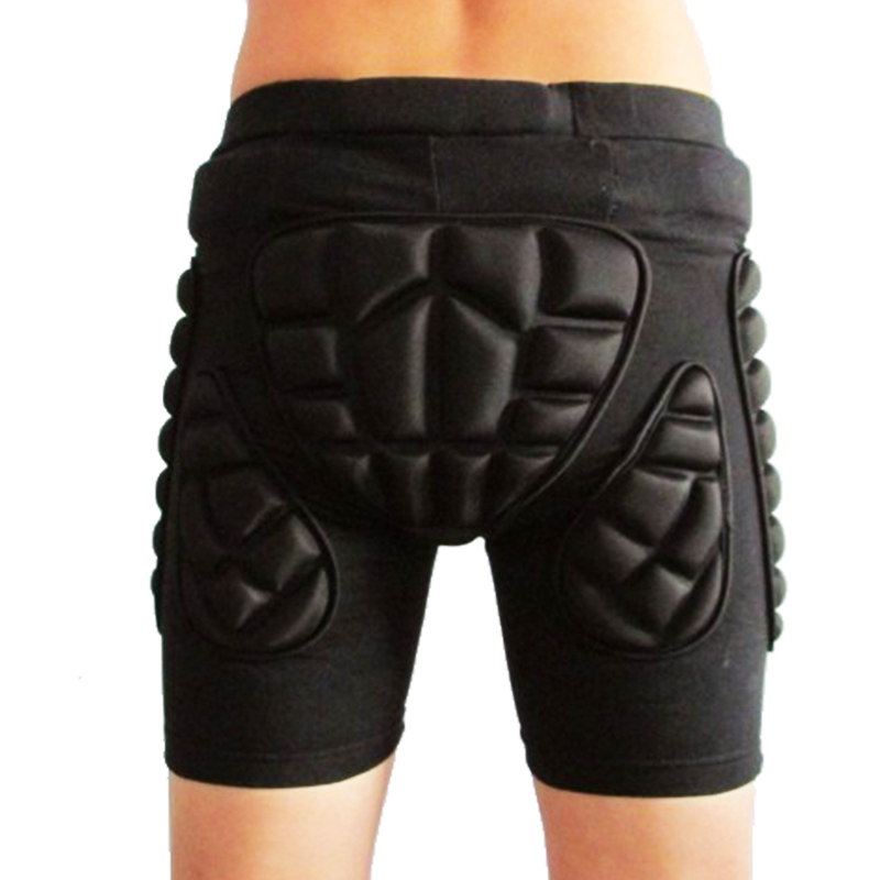 Winter Motorcycle Pants Outdoor <font><b>Sports</b></font> Skiing <font><b>Shorts</b></font> Hip Pad Protector Armor Ski Snowboard Skate Pants Motor <font><b>Shorts</b></font> image