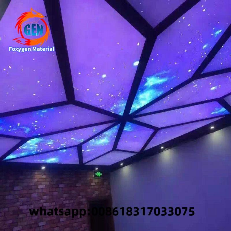 Pop Ceiling Flower Blue Sky Design In Ghana Fireproof Ceiling Tile Jewellery Showroom Ceiling Design