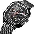 Fashion Brand CAROTIF Skeleton Mannen Horloge Montre Luxe Automatische Mechanische Horloges Mannen Reloj Hombre Man Business Horloge