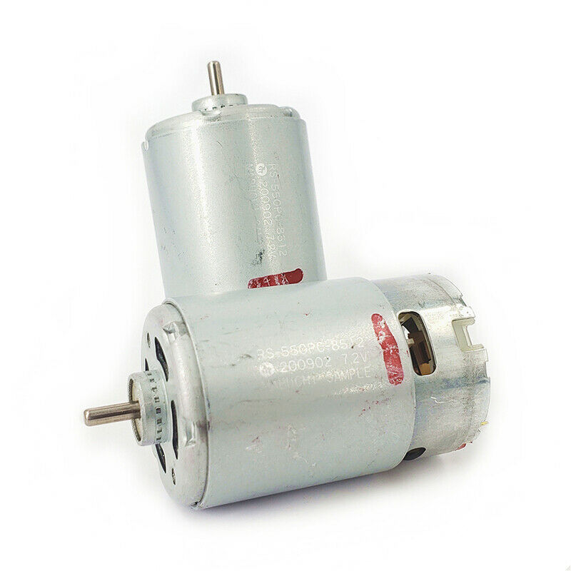 RS-550 DC Motor DC 6V-12V 17600RPM High Speed Power Electric Drill Tools Motor