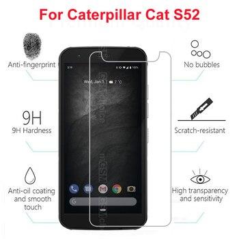 Перейти на Алиэкспресс и купить Защитное стекло для экрана Caterpillar Cat S52 закаленное стекло для Caterpillar Cat S52 стекло для Cat S 52 Защитная пленка для экрана