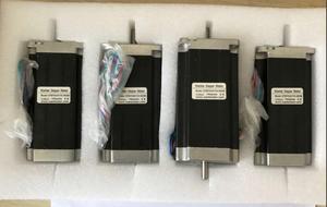 Шаговый двигатель Nema 23 wantai, 4 шт., 425oz-in, 2 фазы, 57BYGH115-003B, фрезерный станок с ЧПУ, лазерный гравер