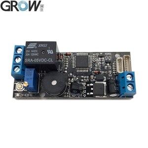 Image 3 - Placa de Control de acceso de huella dactilar, módulo de huella dactilar de bajo consumo K202 + R502 A DC12V + R502 A Pequeño anillo LED