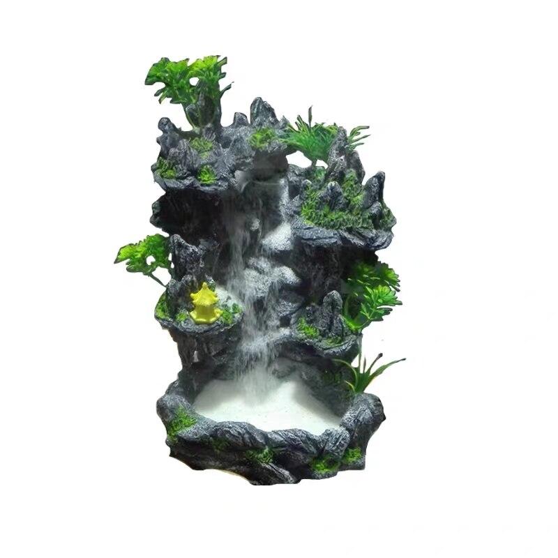 3 размера аквариум зыбучий песок водопад rockery