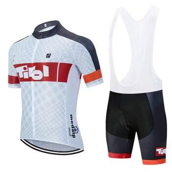 Nuevo 2020 equipo de TIROL ciclismo jersey 20D bicicleta pantalones cortos conjunto...