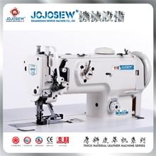 JS 1541E 1541 1510 عمودي إبرة واحدة ثلاثة متزامن مادة سميكة الخضار المدبوغة ماكينة جلد