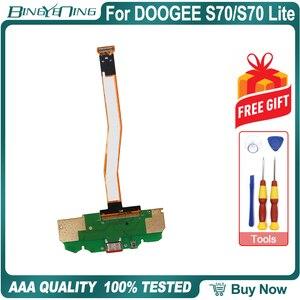 Image 2 - 100% nowy oryginał płyta usb płytka portu ładowania wtyczka usb do DOOGEE S70 z main fpc naprawy akcesoria zamienne części