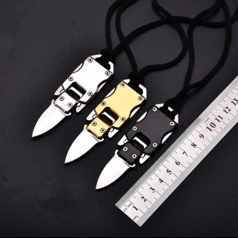 Multifunctional Knife Pare Combat Parcel Letter Defense Peeler Peel EDC Self Open Pocket Key Keychain Multipurpose Outdoor