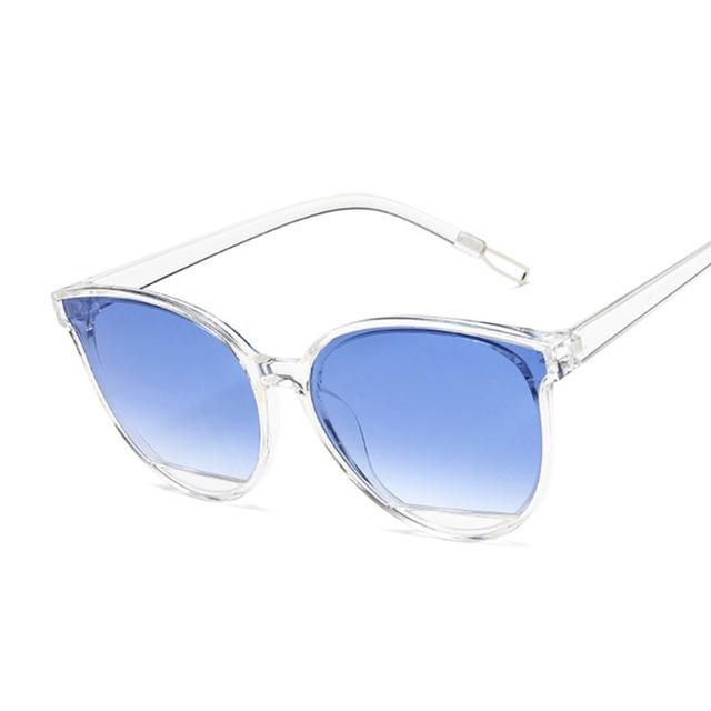 Women Vintage Metal Mirror Classic Vintage Sun Glasses  4