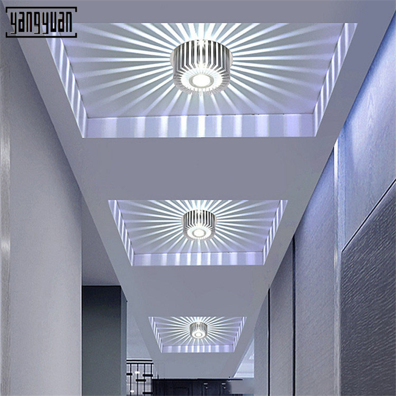 Modern LED Ceiling Light Living Room Dining Bedroom Luminarias Led Lights for house lighting fixtures Aisle Simple Ceiling Lamp