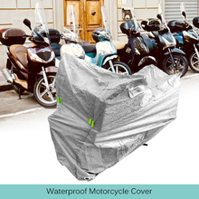 1 Pcs Waterproof Motorcycle Covers UV Protector Rain Cover Protection Dustproof Case Cloth S-XL