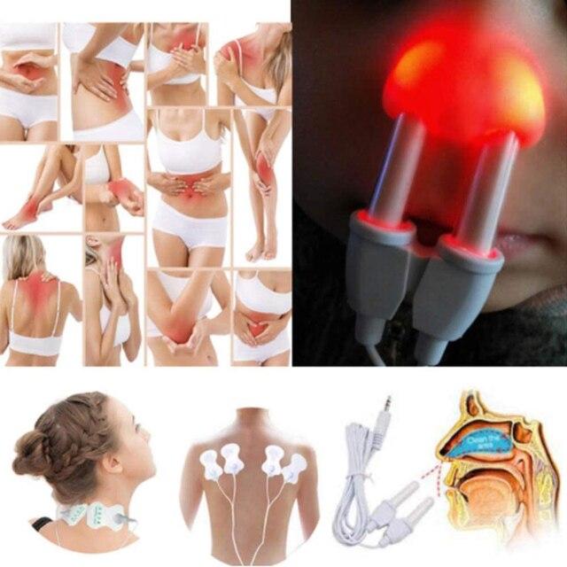 Фото устройство для массажа тела 2 в 1 цифровой электронный импульсный цена