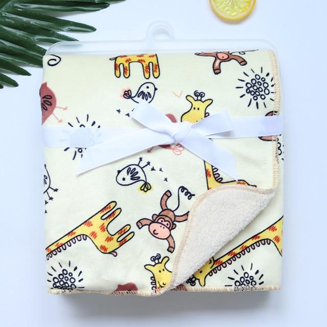 Double Layer Baby Blanket 5