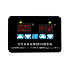 ZFX-W1011 Microcomputer Digital Display Temperature Controller Thermostat Intelligent Time Controller Adjustable Electronic Temp стоимость