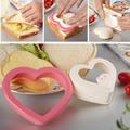 Сердце Форма сэндвич для резки хлеба форма для тостов чайник креативный нож для торта и печенья Кухня завтрак десертный прибор