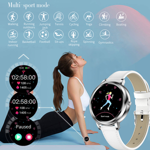 Image 5 - MELANDA 2021 Smart Watch Women Full Touch Screen Heart Rate Monitor Blood Pressure Fitness Tracker Smartwatch For Android IOS