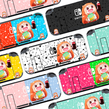 Vinyl Screen Skin Sticker Himouto Umaru chan Protector Stickers for Nintendo Switch NS Console + Controller + Stand Holder Skins