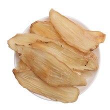 Tubérculo alto de gastrodia, fatias de gastrodiae de rizoma, tian ma pian, medicina erval chinesa orgânica saudável natural