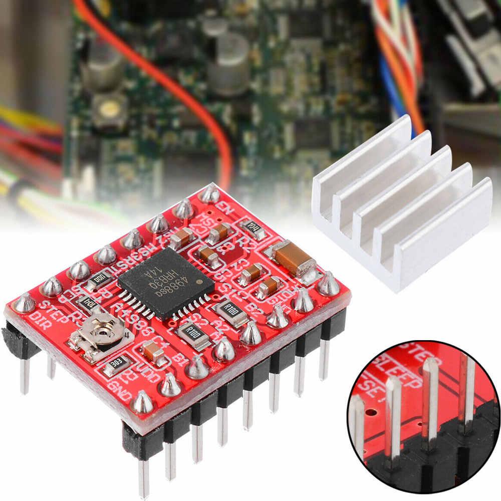 1PCS A4988 Stepper Motor Driver Module 3D Printer Polulu StepStick RAMPS RepRap