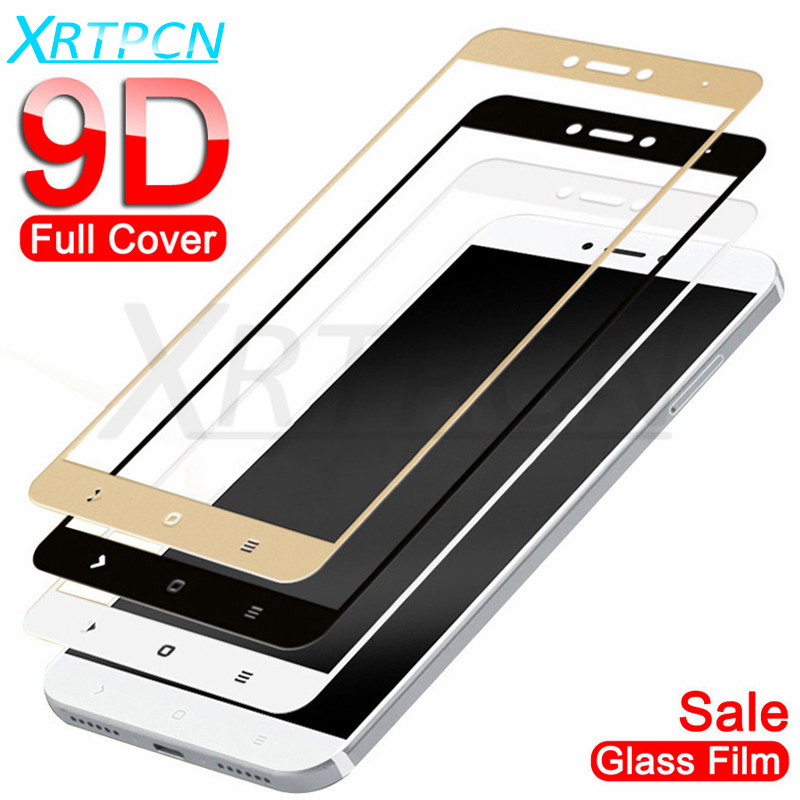 9D Tempered Glass On The For Xiaomi Redmi 4A 4X 5A 5 Plus Note 4 4X 5 5A Pro Screen Protector Safety Glass Protection Film Case