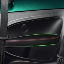 Car Accessories Interior Microfiber Door Panel Armrest Leather Cover Trim For VW Beetle 2012 2013 2014 2015 2016 2017 2018 2019
