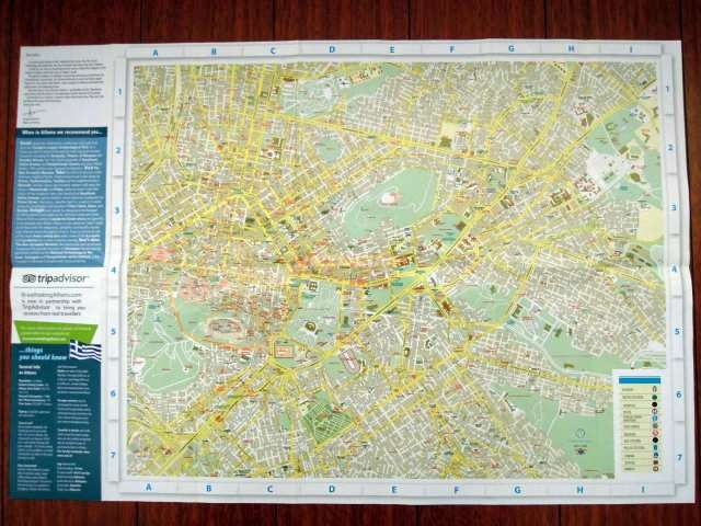 Map Of Athens Map Of Athens Tourist Traffic Map Attractions Distribution Map Subway Line Street Details