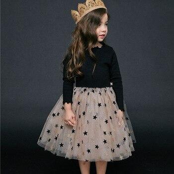 Menoea Baby Girl Dress European and American Style Children Dress Plaid flying Sleeve Kids Birthday Dress Girls Princess Dress цена 2017