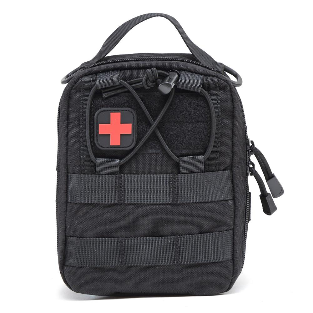 Nylon First Aid Bag Tactical Molle Medical Pouch Emergency EDC Rip-Away Survival Utility Car First Aid Bag Outdoor Supplies