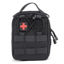 Nylon apteczka pierwszej pomocy Tactical Molle etui medyczne awaryjnego EDC Rip od obiektu Survival Utility samochodu apteczka pierwszej pomocy na zewnątrz dostawy w Bezpieczeństwo i przetrwanie od Sport i rozrywka na