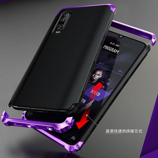 Leanonus Aluminum Metal Bumper Case For Huawei P30 Case P30 Pro Shockproof Full Cover Armor Funda For Huawei P20 Pro Case P20
