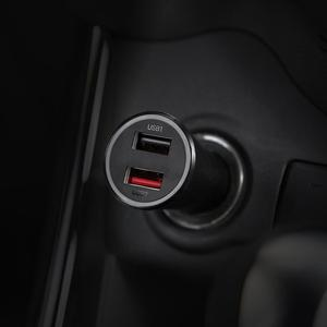 Image 3 - Oryginalna ładowarka samochodowa xiaomi 37W Max dla mi 9/K20 Pro/9 T (27W Max) 2 Port USB inteligentne wyjście wielokrotny ochraniacz