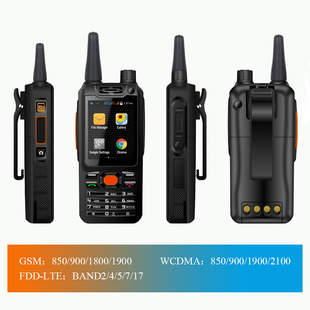 Image 2 - 4G LTE Android Walkie Talkie F25 Poc network Phone Radio Intercom Rugged Smart phone Zello REAL PTT Radio F25Walkie Talkie   -