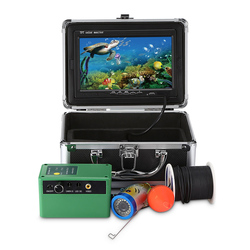 Outlife 1000TVL Fish Finder Underwater Fish Finder 7.0 Inch Display Professional Fishing Camera 15 Infrared Bulbs 15 White LEDs