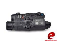 Airsoft Element arma PEQ 15 / LA 5C UHP luz táctica apariencia láser rojo Dot Light Softair IR linterna batería caso EX396