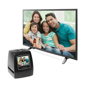 MINI Film Scanner 5MP 35mm 135mm Negative Film Scanner Negative Slide Photo Film Converts USB Cable LCD Slide 2.4