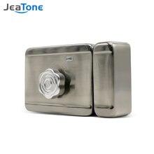 Jeatone Электрический замок для дома видеодомофон проводной