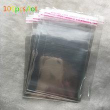 & Nbsp; atacado vários modelos resealáveis bolsa poly transparente saco plástico opp auto-adesivo selo de jóias fazendo saco.
