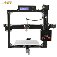 Anet A2 High Precision Aluminum Frame 3D Printer Large Print Size 220*220*220mm/220*270*220mm DIY 3D Printer Kit With Filament