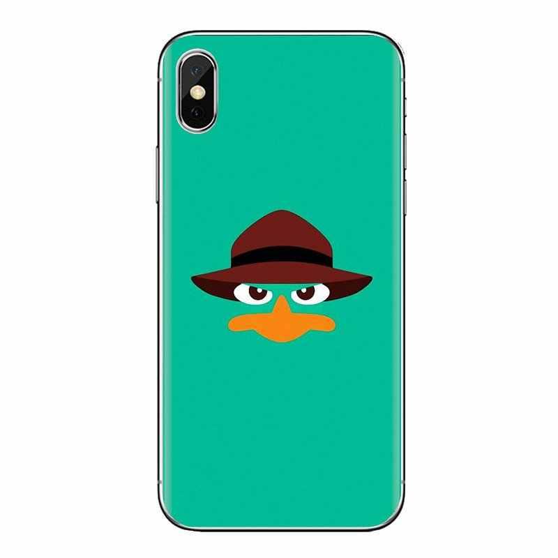 Cartoon Perry Het Vogelbekdier Art Voor Oneplus 3T 5T 6T Nokia 2 3 5 6 8 9 230 3310 2.1 3.1 5.1 7 Plus 2017 2018 Siliconen Shell Gevallen
