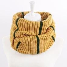 Модный вязаный шарф кольцо в Корейском стиле унисекс Универсальный